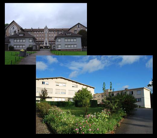 Historique des maisons St Pierre Fournier et Saint Joseph